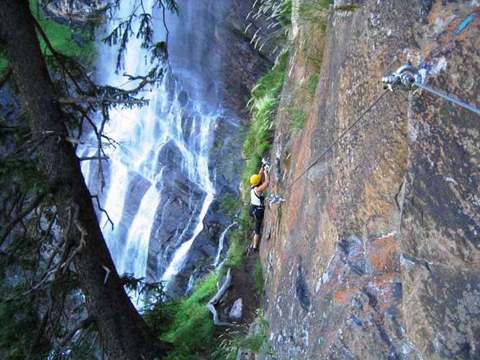 Klettersteig Fallbach : Albert milde fallbach klettersteig: 46 49 internet