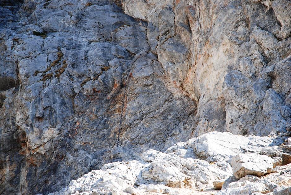 Klettersteig Rax : Albert milde rax holzknechtsteig einstieg hans von haid
