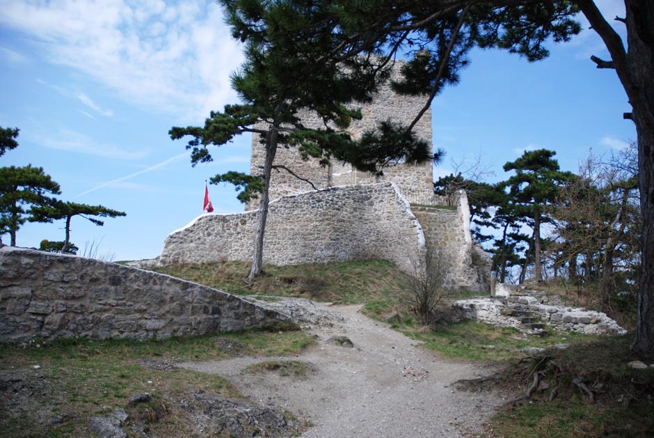 Mödlinger Klettersteig : Albert milde mödlinger klettersteig burgruine mödling
