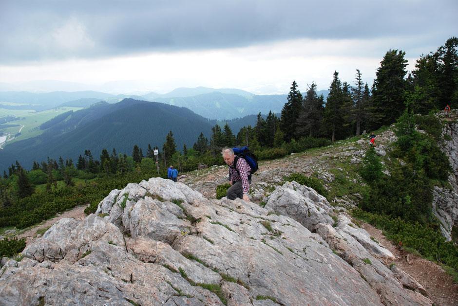 Klettersteig Hochlantsch : Albert milde franz scheikl klettersteig normalweg