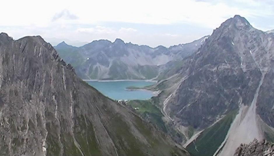 Klettersteig Lünersee : Albert milde saulakopf klettersteig lünersee