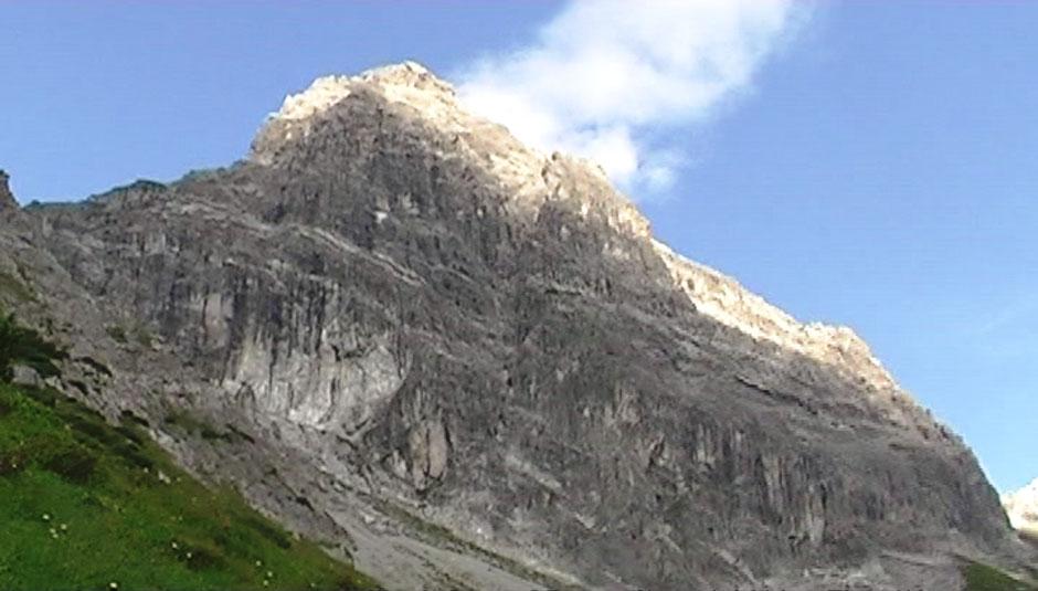 Klettersteig Saulakopf : Albert milde saulakopf klettersteig