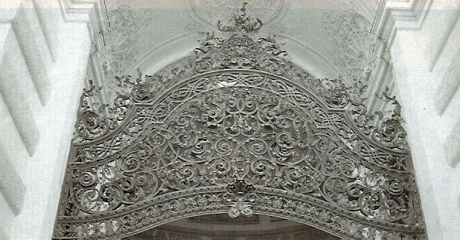 Upper part of the Michaelertor (Michaeler Gates) of Viennese Hofburg made by Anton Biró