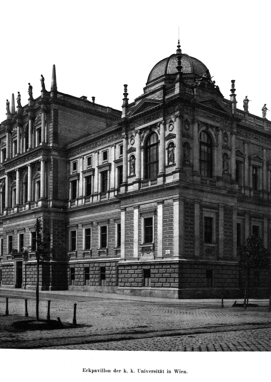 Archivbild: Wiener Universität, Eckpavillon